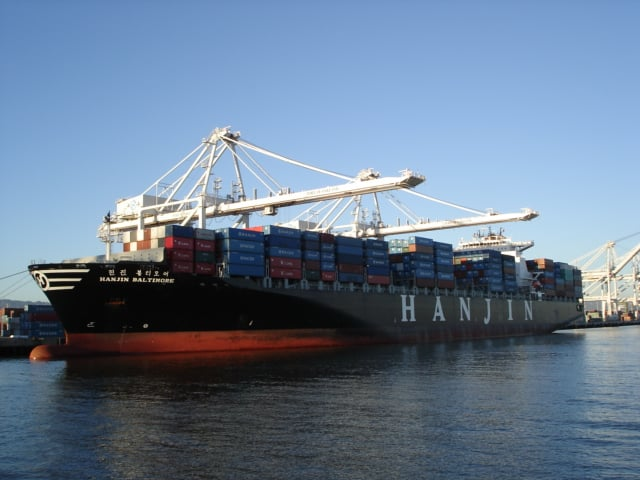 The Hanjin Baltimore