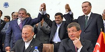 Brazil, Iran, Turkey