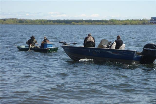DNR closes in on netters