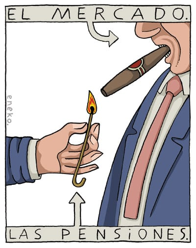 Pensions: Up in Smoke