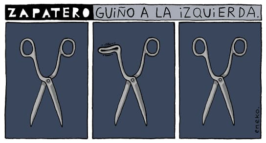 Zapatero's Wink to the Left