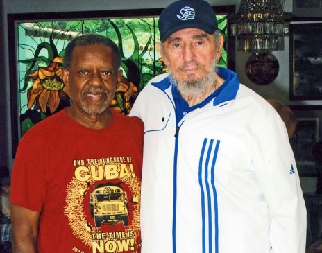 Lucius Walker and Fidel Castro, August 2009
