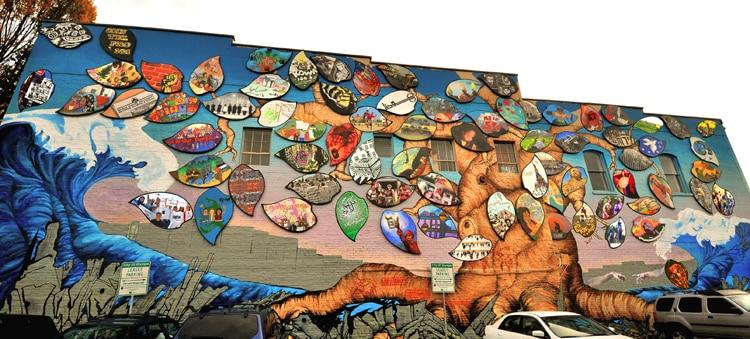 The Mural Speaks