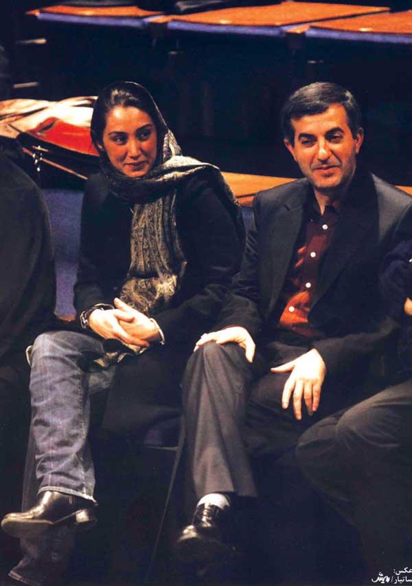 Esfandiar Rahim Mashaei and Hedieh Tehrani