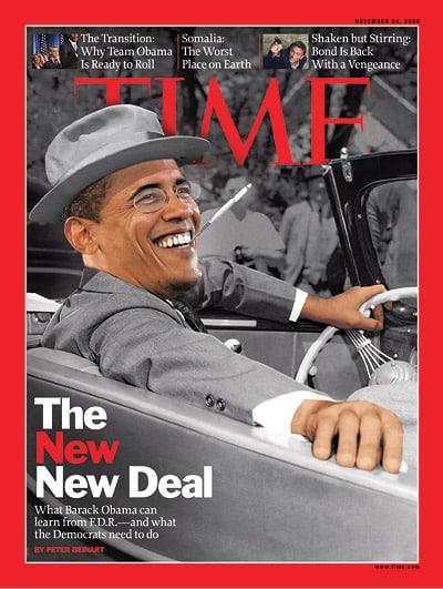 Joke: Obama as FDR