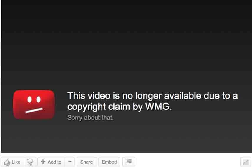 WMG-YouTube