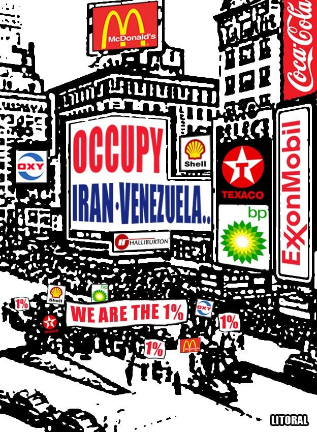 We Are the 1%: Occupy Iran, Occupy Venezuela!