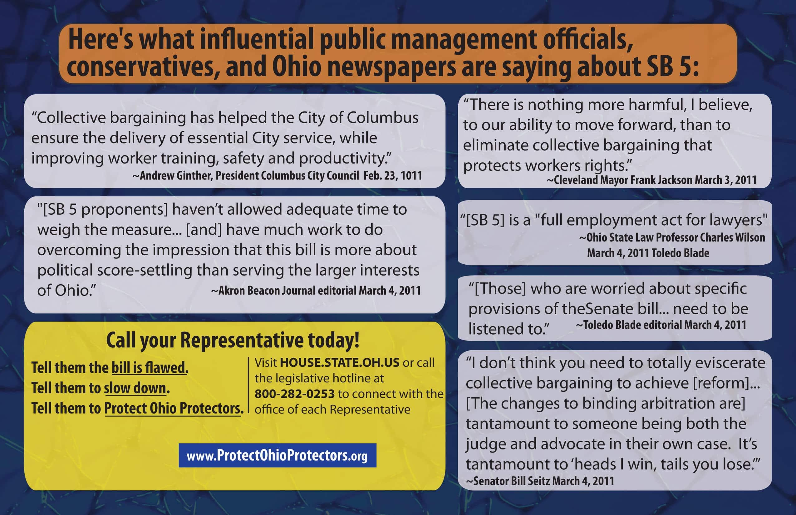 Protect Ohio Protectors Postcard