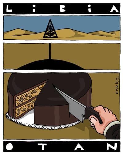NATO Divides the Libyan Cake