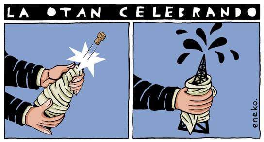 NATO's Champagne Moment