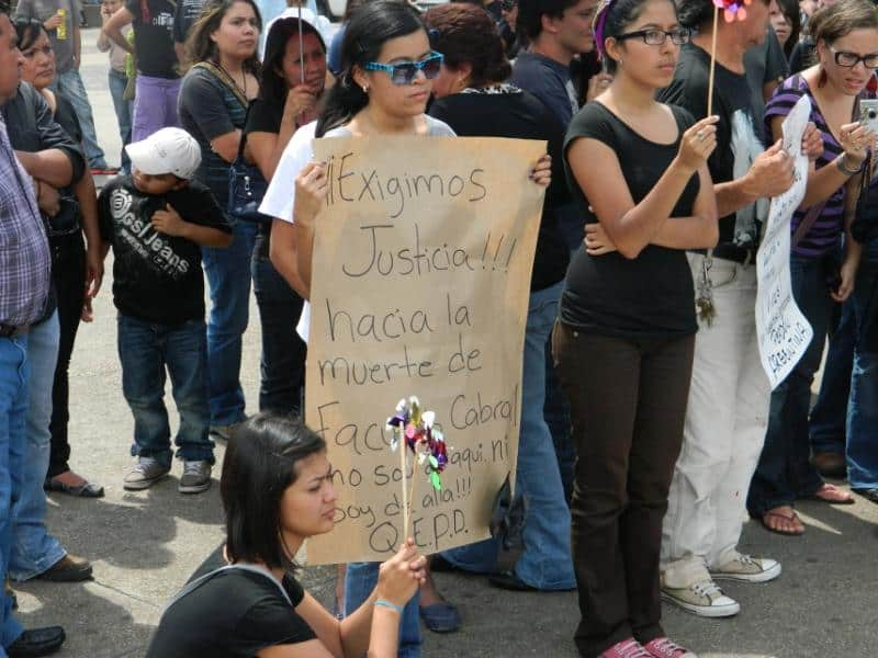 We demand justice for the death of Facundo Cabral.  'I'm Not from Here, Nor Am I from There.'