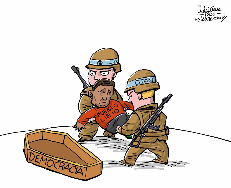 Libya: NATO's Democracy