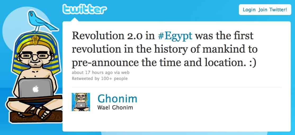 Wael Ghonim on Revolution 2.0