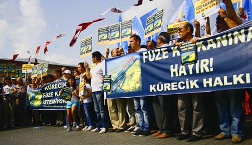 No to the Missile Shield in Kürecik'