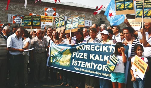 No to the Missile Shield in Kürecik'