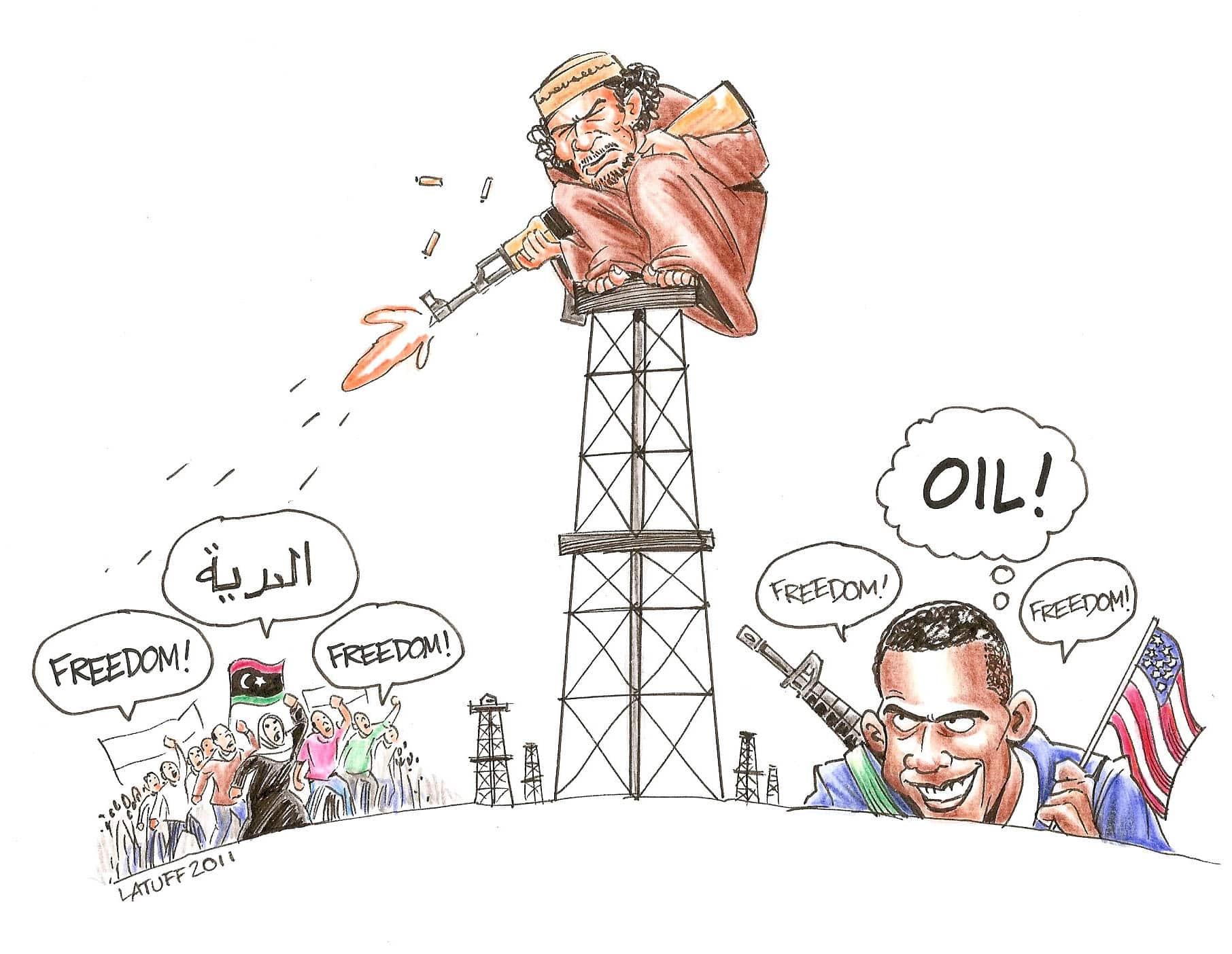 Obama for Freedom in Libya