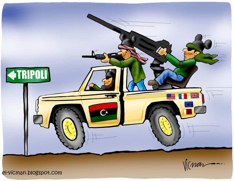 Imperialist Revolution in Libya