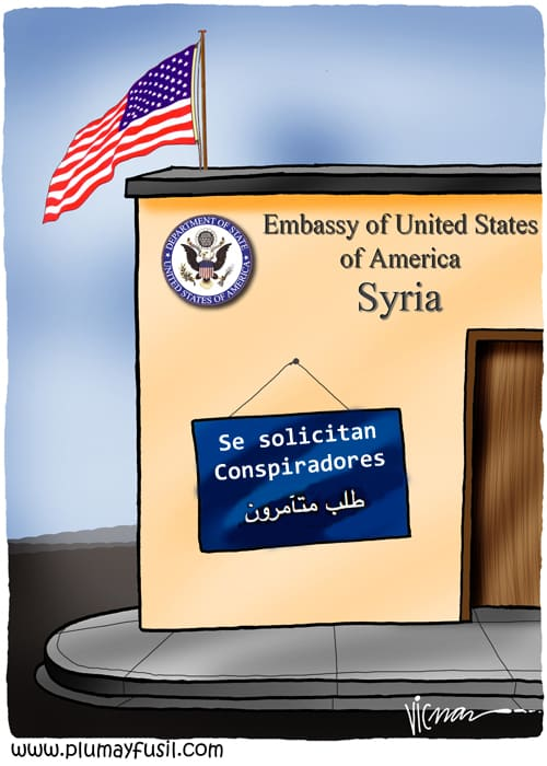 US Embassy at Work in Syria