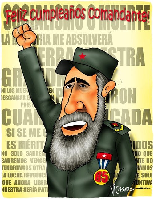 Happy Birthday, Comandante!