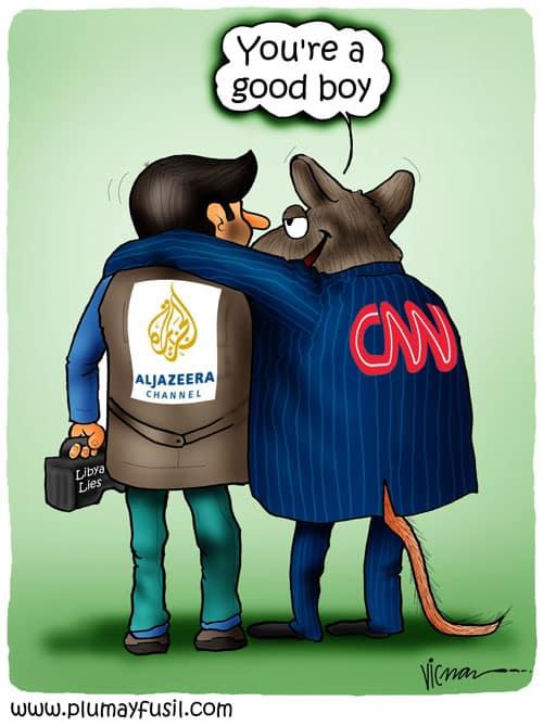 Libya War, Brought to You by Al Jazeera