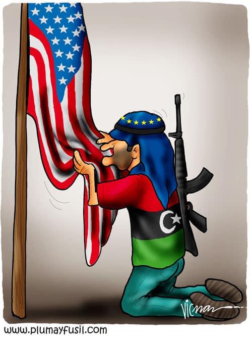 Libyan Rebels Thank US . . .