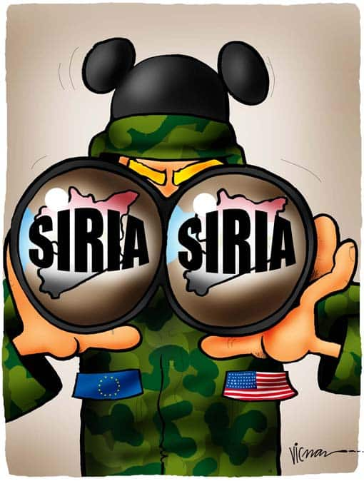 Lying in Wait for Opportunity in Syria