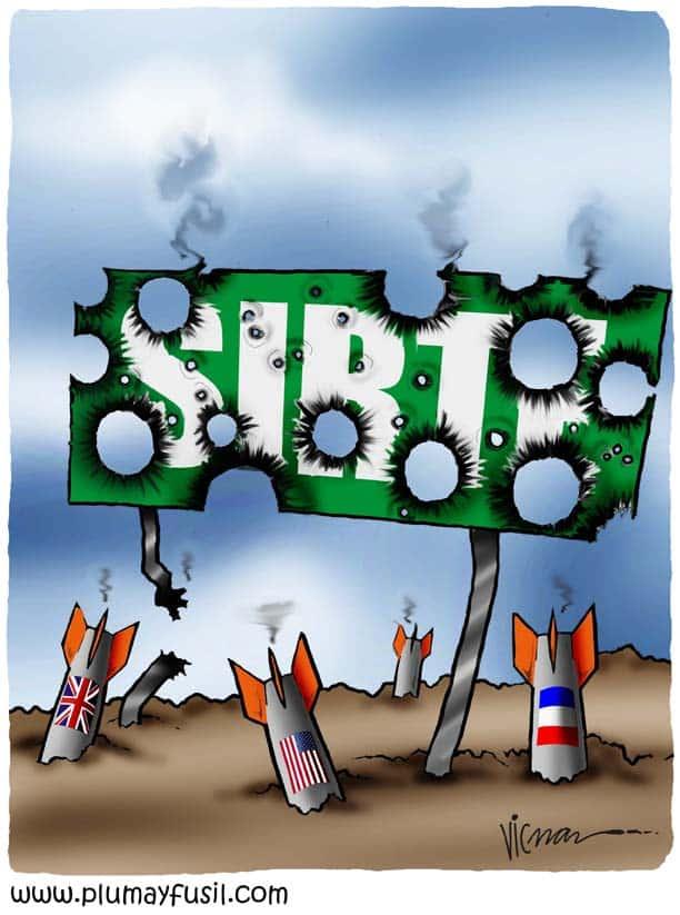 Sirte under Fire