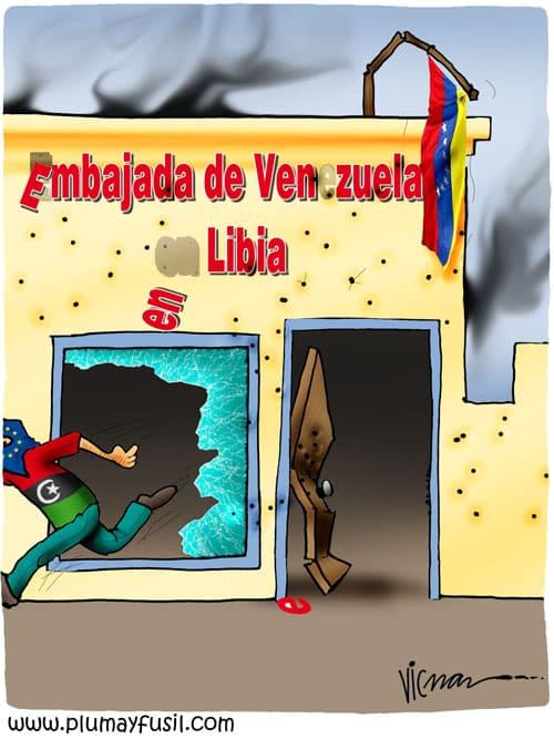 . . . and Sack Venezuelan Embassy
