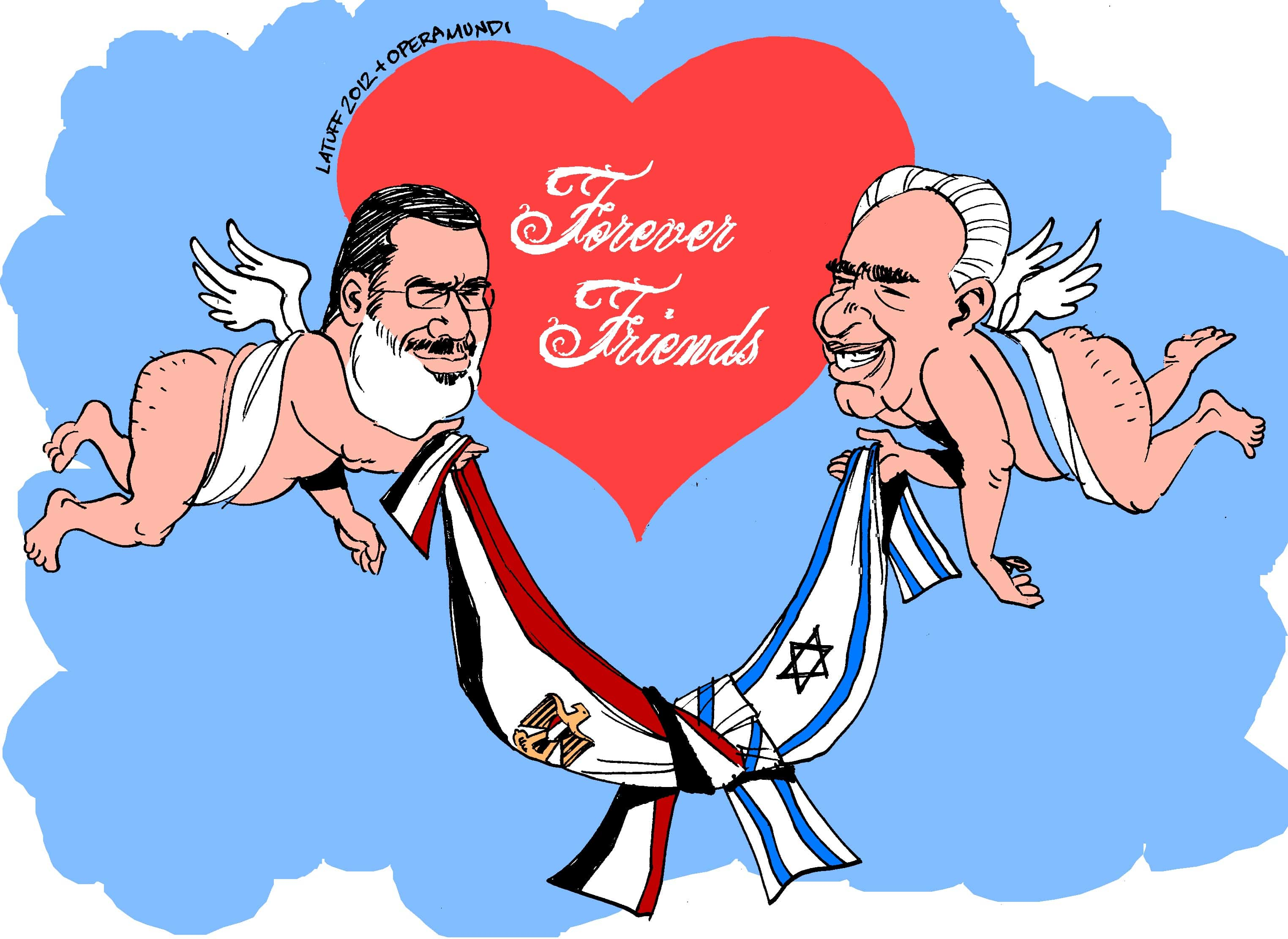Morsi and Peres: A Love Story