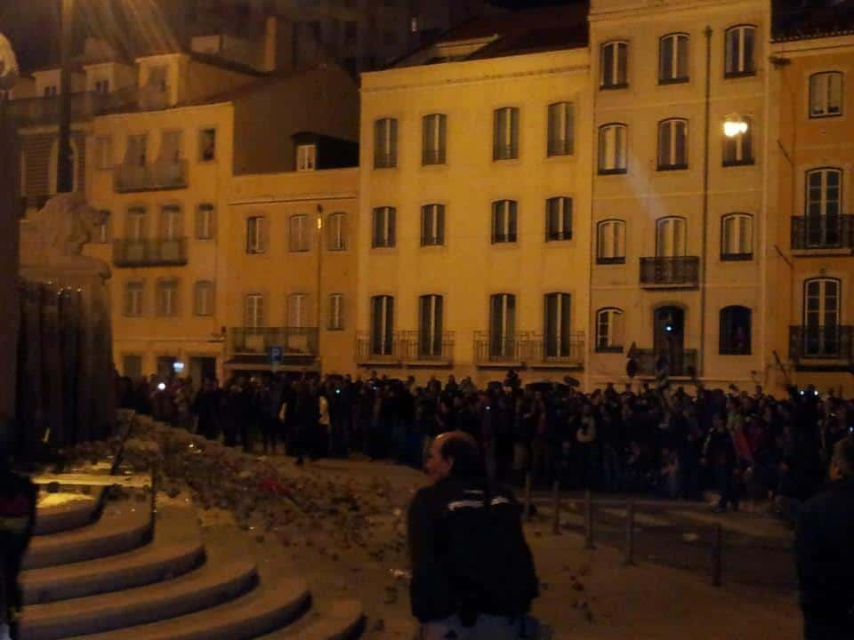 14N General Strike: Minutes Before the Police Storm the Square