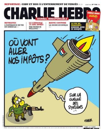 Charlie Hebdo N°1106, 28 August 2013