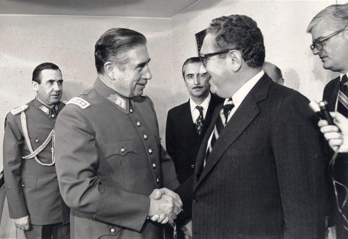 Pinochet and Kissinger