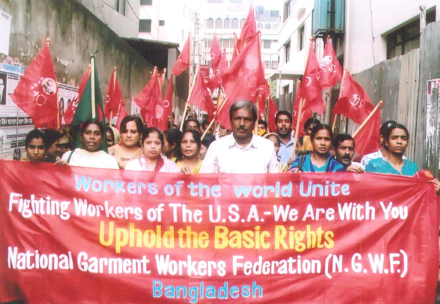 Bangladeshi Trade Unionists Stand in Solidarity with Workers in Wisconsin, Ohio, and Elsewhere