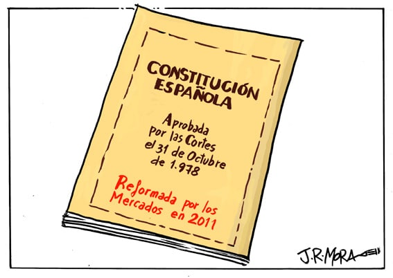Subjecting Spanish Constitution to Market Reform