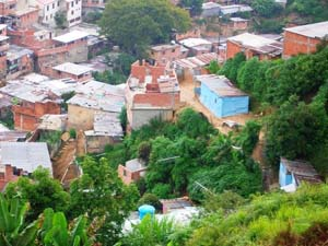 Barrio en Los Teques