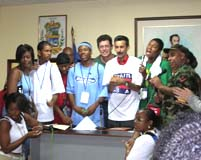 The SCLC Sings with the New Local Government