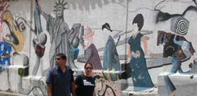 Mural en Merida, Detalle