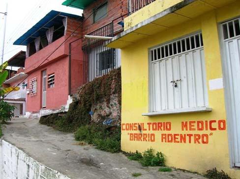 Consultario Medico, Barrio Adentro