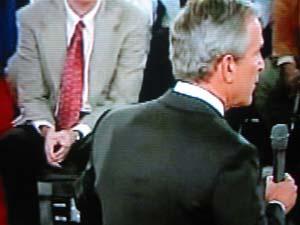 Bush's Debate Bulge