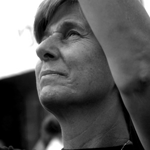 Cindy Sheehan at Camp Casey NYC