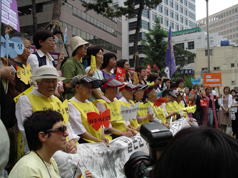 Comfort Women Speak Out in Korea