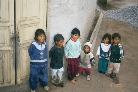 Poor Children in Ecuador