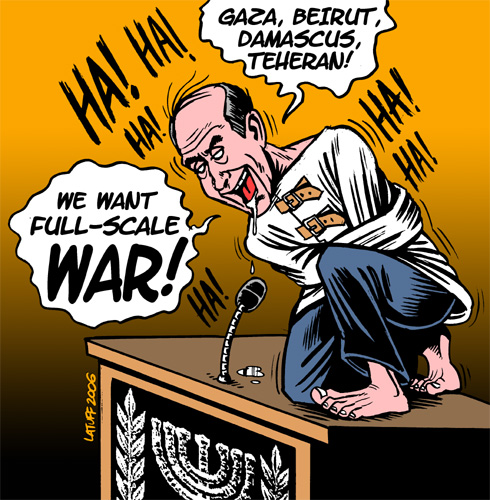 Ehud Olmert: Mad for a Total War
