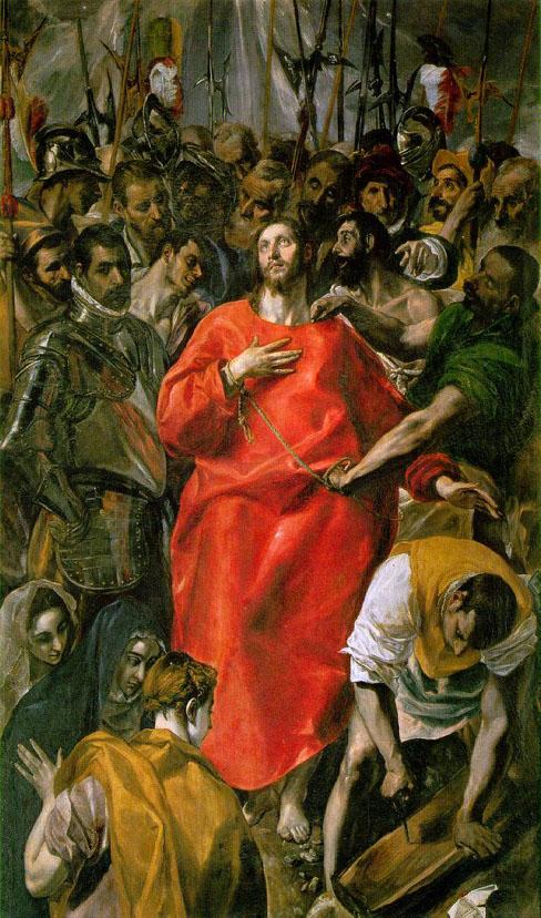 El Greco, The Spoliation, 1577-79
