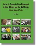 Letter in Support of the Movement in New Orleans and the Gulf Coast