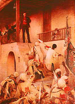 The Death of General Gordon at Khartoum, 1885