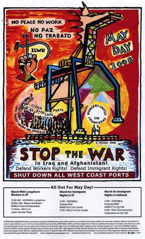 ILWU: Stop the War