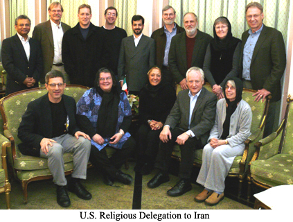 U.S. Religious Delegation to Iran