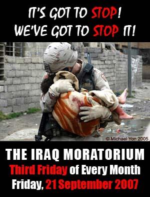 The Iraq Moratorium