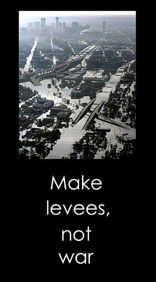 Make Levees, Not War